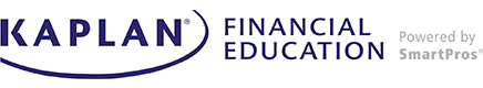 Kaplan Financial Education Powered by SmartPros Logo