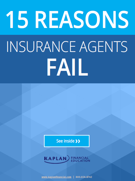 15 Reasons Ins Agents Fail cover