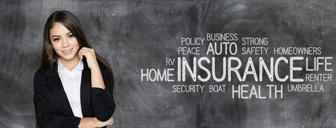 Selling insurance - conceptual image