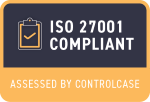 ISO 27001 Compliant Small Badge