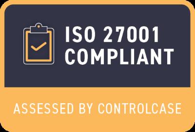 ISO 27001 Compliant Medium Badge