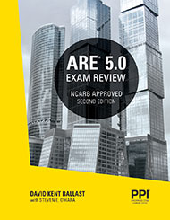 ARE 5 Exam Review Book Cover