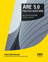 ARE 5 Practice Questions Book Cover