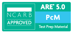 NCARB Approved ARE Practice Management Exam Test Prep Study Materials