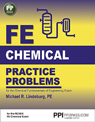 FE Chemical Practice Problems Book Cover