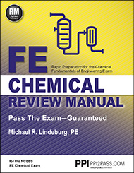FE Chemical Review Manual Book Cover