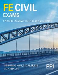 FE Civil Exam with 5 Full Practice Exams