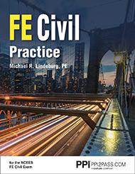 FE civil practice Book Cover