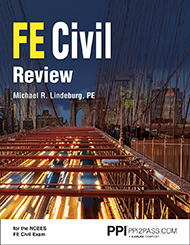 FE Civil Review Book Cover