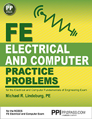 FE Electrical and Computer Practice Problems Book Cover
