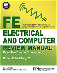 FE Electrical and Computer Review Manual Book Cover