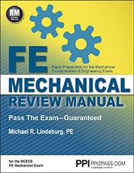 FE Mechanical Review Manual Book Cover