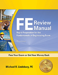 FE Review Manual Book Cover