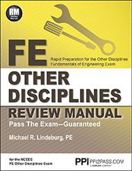 FE Other Disciplines Review Manual Book Cover