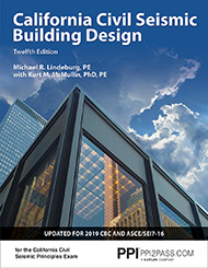 California Civil Seismic Building Design Twelfth Edition Book Cover