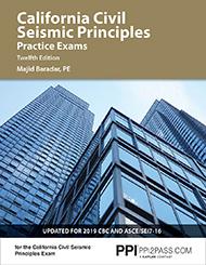 California Civil Seismic Principles Practice Exam Twelfth Edition Book Cover