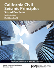 California Civil Seismic Principles Solved Problems Twelfth Edition book cover