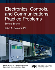 PE Electrical Electronics Practice Problems Book Cover