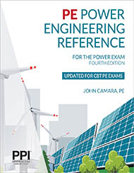 PE Electrical Power Reference Book Cover