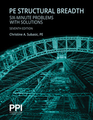 PE Structural Breadth Six Minute Problems