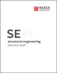 NCEES SE Structural Engineering Practice Exam Book Cover