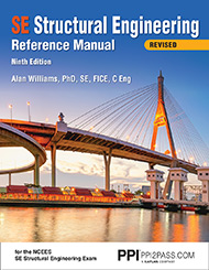 SE Structural Engineering Reference Manual Revised Nonth Edition Book Cover