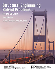 Structural Engineering Solved Problems for the SE Exam Seventh Edition Book Cover