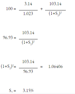 CFA Level 2 Answer Explanation Equations Part 1