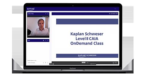 Schweser CAIA Level II OnDemand Class