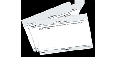 Schweser's CAIA Level II Flashcards