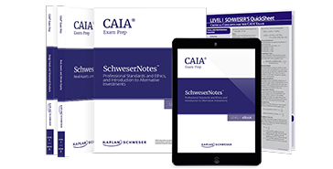 Schweser's CAIA Level I SchweserNotes™ and QuickSheet Package