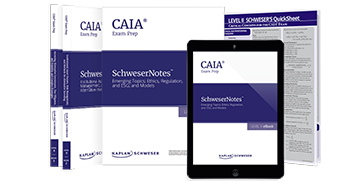 Schweser's CAIA Level II SchweserNotes™ and QuickSheet Package