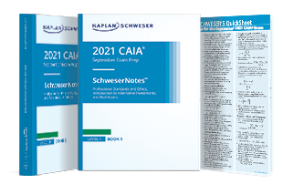 CAIA Level 1 SchweserNotes Package