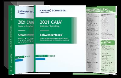 CAIA Level II SchweserNotes Bookset with QuickSheet