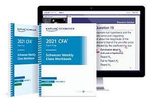 Kaplan Schweser's class materials for Level II of the CFA exam