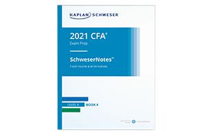Kaplan Schweser's SchweserNotes™ Product Sample