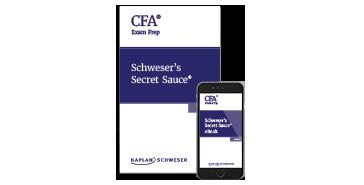Kaplan Schweser's Secret Sauce for Level 1 of the CFA exam