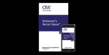 Kaplan Schweser's Secret Sauce for Level 2 of the CFA exam