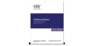 Kaplan's SchweserNotes Book for Level I of the 2022 CFA Exam