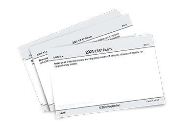Level I flashcard set