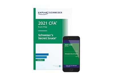 Schweser's Secret Sauce for CFA Level I Exam