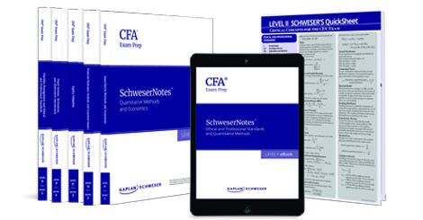 Kaplan Schweser's SchweserNotes for Level 2 of the CFA exam