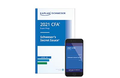 Schweser's Secret Sauce® Book for the Level III CFA Exam