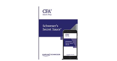 Kaplan Schweser's Secret Sauce for the Level 3 CFA exam